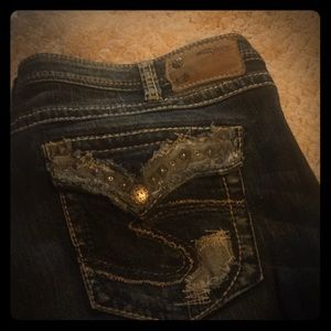Silver jeans Like new